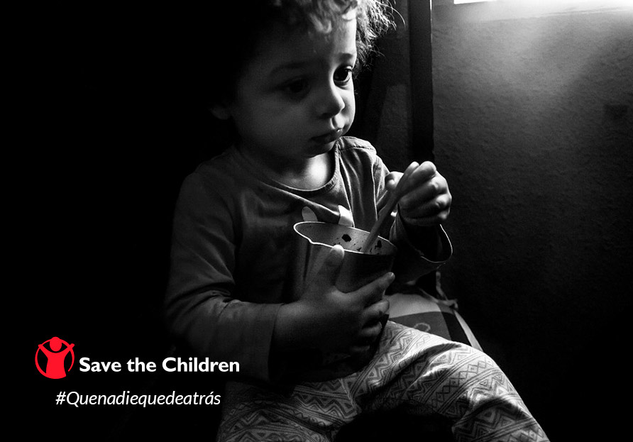 #quenadiequedeatrás Save the children
