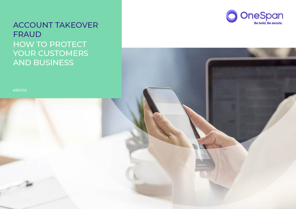 OneSpan eBook Account Takeover Fraud